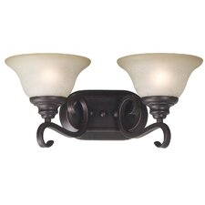 Welles 2 Light Vanity Light