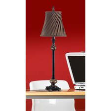 "Epicurean Aruba 32"" Table Lamp with Bell Shade (Set of 2)"