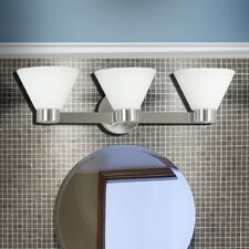 Maxwell 3 Light Vanity Light