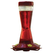 Perky Pet 16 oz Glass Hummingbird Feeder with 4 Fountains