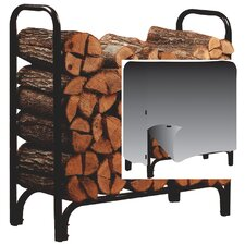 Deluxe Log Rack with Cover
