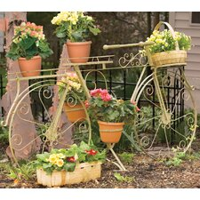Whimsical Bicycle Plant Stand