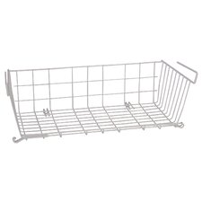 "<strong>Panacea</strong> 21"" X 10"" Vinyl Coated Wire Undershelf Storage Basket"