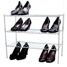 Extra Large 3 Shelf Shoe Rack