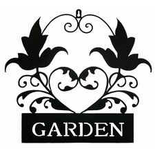 Garden Plaque Wall Art
