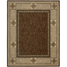 <strong>Nourison</strong> Vallencierre Brown Rug