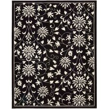 Versaille Palace Black/White Rug