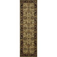 Jaipur Light Gold/Black Rug