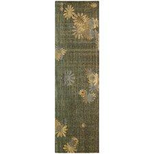 Radiant Impressions Green/Brown Rug