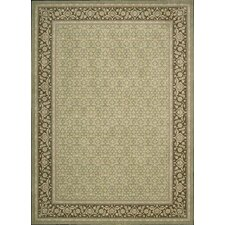 Persian Empire Green Rug