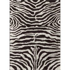 <strong>Nourison</strong> Splendor Black White Rug
