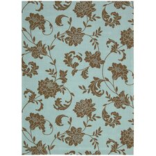 <strong>Nourison</strong> Home & Garden Light Blue Rug