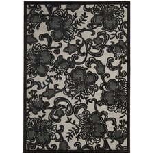 Graphic Illusions Pewter Rug