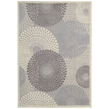 Tujamo Gray Abstract Area Rug II