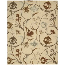 <strong>Nourison</strong> In Bloom Beige Rug