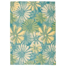 Home and Garden Blue Rug