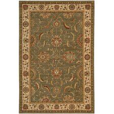 <strong>Nourison</strong> Living Treasures Green Rug