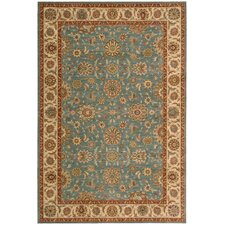 Living Treasures Aqua Rug