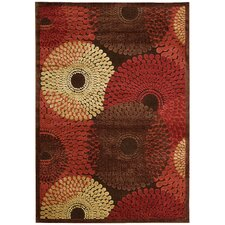 Graphic Illusions Brown Rug