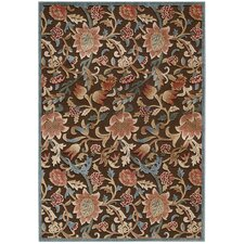<strong>Nourison</strong> Graphic Illusions Brown Rug