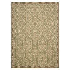 Riviera Green/Tan Rug