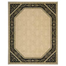 Vallencierre Beige/Black Rug
