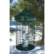 Caged Bird Feeder