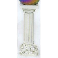 Reversible Column Gazing Globe Pedestal Stand