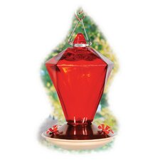 <strong>Woodlink</strong> Audubon Ruby Diamond Glass Hummingbird Feeder