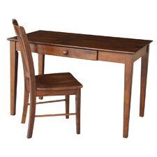 <strong>International Concepts</strong> Writing Desk with Chair