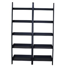 "<strong>International Concepts</strong> Leaning 75.5"" Bookcase"