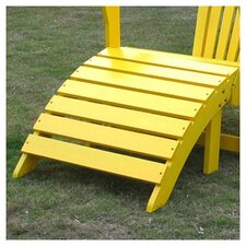 Adirondack Collection Yellow Footrest