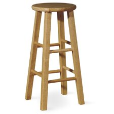 "29"" Roundtop Bar Stool (Natural)"
