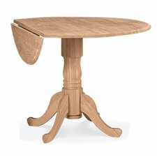 "Round 42"" Dual Drop Leaf Dining Table"