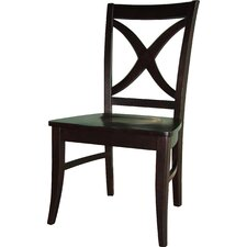 <strong>International Concepts</strong> Cosmopolitan Salerno Side Chair (Set of 2)