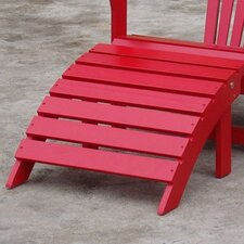 Adirondack Collection Red Footrest