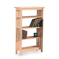 "Mission 48"" H Four Tier Bookshelf"