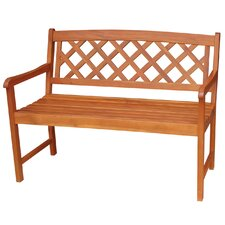 X-Back Hardwood Garden Bench