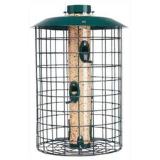 Open Air Squirrel Proof Selective Caged Bird Feeder