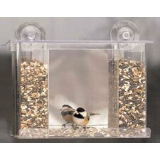 Songbird One Way Mirror Window Bird Feeder