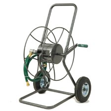 <strong>Lewis Lifetime Tools</strong> 2 Wheeled Hose Truck Easy Assembly