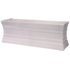Windsor Rectangular Flower Box Planter with Brackets