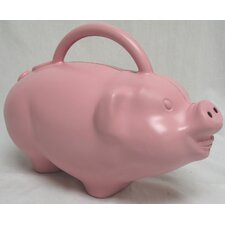 Pig Watering Can in Pink