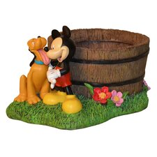 Disney Mickey Mouse And Pluto Planter