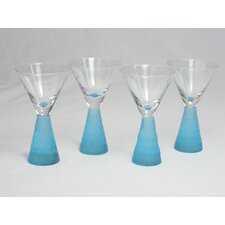 Prescott Cordial Glass in Aqua (Set of 4)