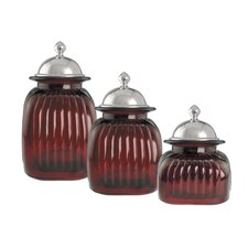 3 Piece Barrington Canister Set