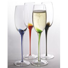<strong>Artland</strong> Splash Flute Glass (Set of 4)