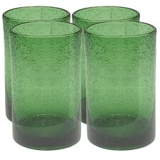 <strong>Artland</strong> Iris Highball Glass in Green (Set of 4)
