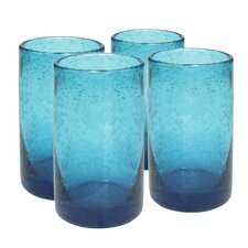 <strong>Artland</strong> Iris Highball Glass in Turquoise (Set of 4)