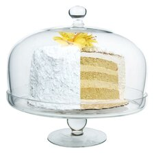 """Simplicity 11"""" Cake Stand with Lid"""